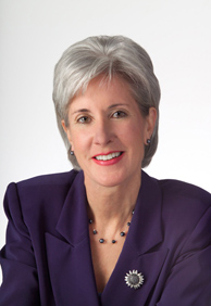 Official Photo of Secretary of Health and Human Services Kathleen Sebelius